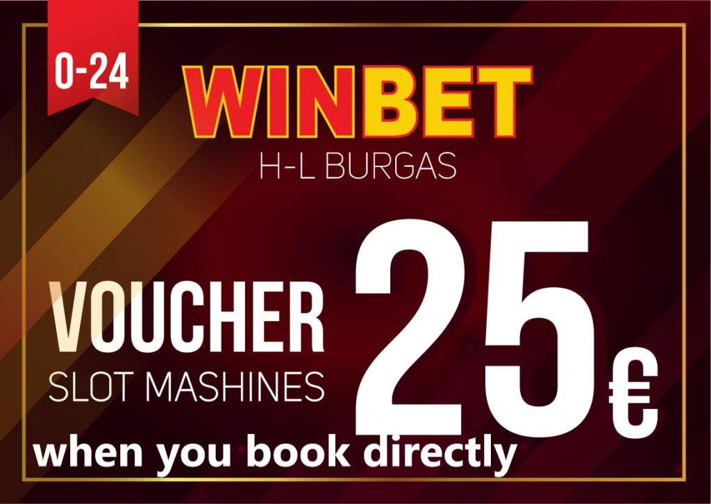 Get 25Euro WinBet Casino credit when you book directly through our site or phone.